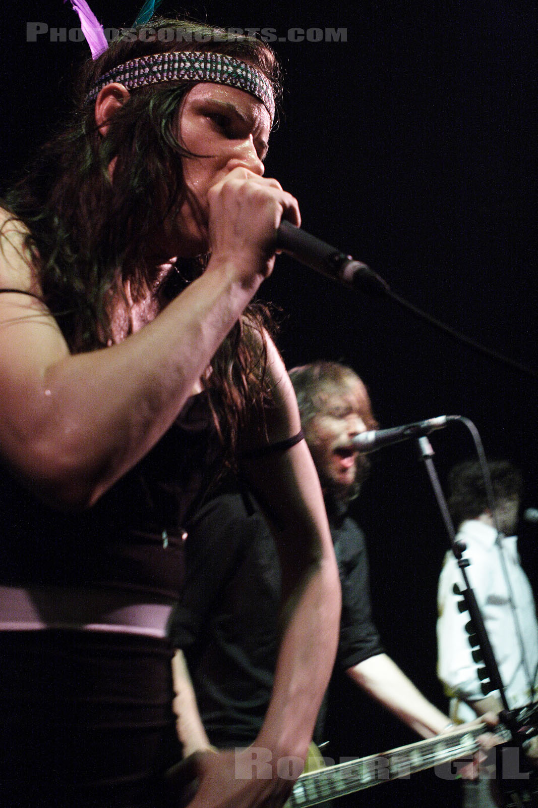 JULIETTE AND THE LICKS - 2006-10-20 - PARIS - Trabendo
